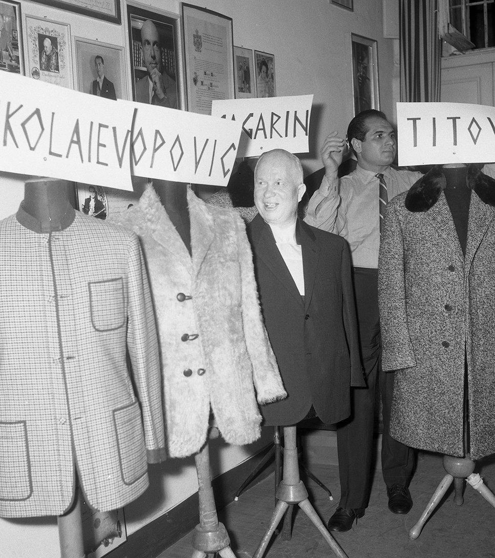Анджело Литрико - платья мировых лидеров