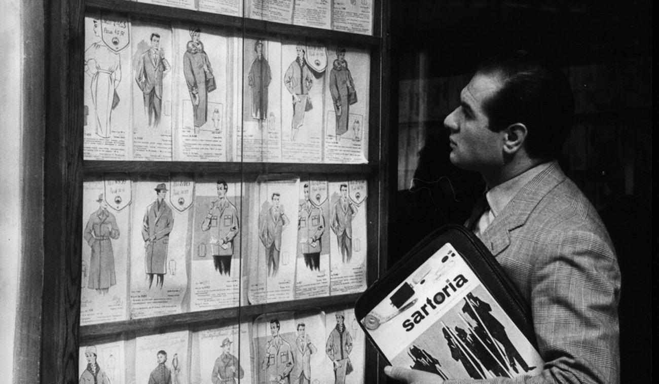 Le protagoniste d'Angelo Litrico à la mode du 20e siècle