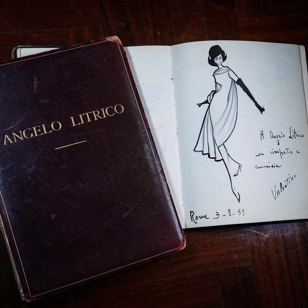 dedica Valentino - Angelo Litrico
