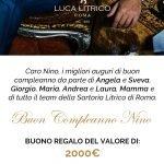 Coupon Regalo - Gift Card Sartoria Litrico