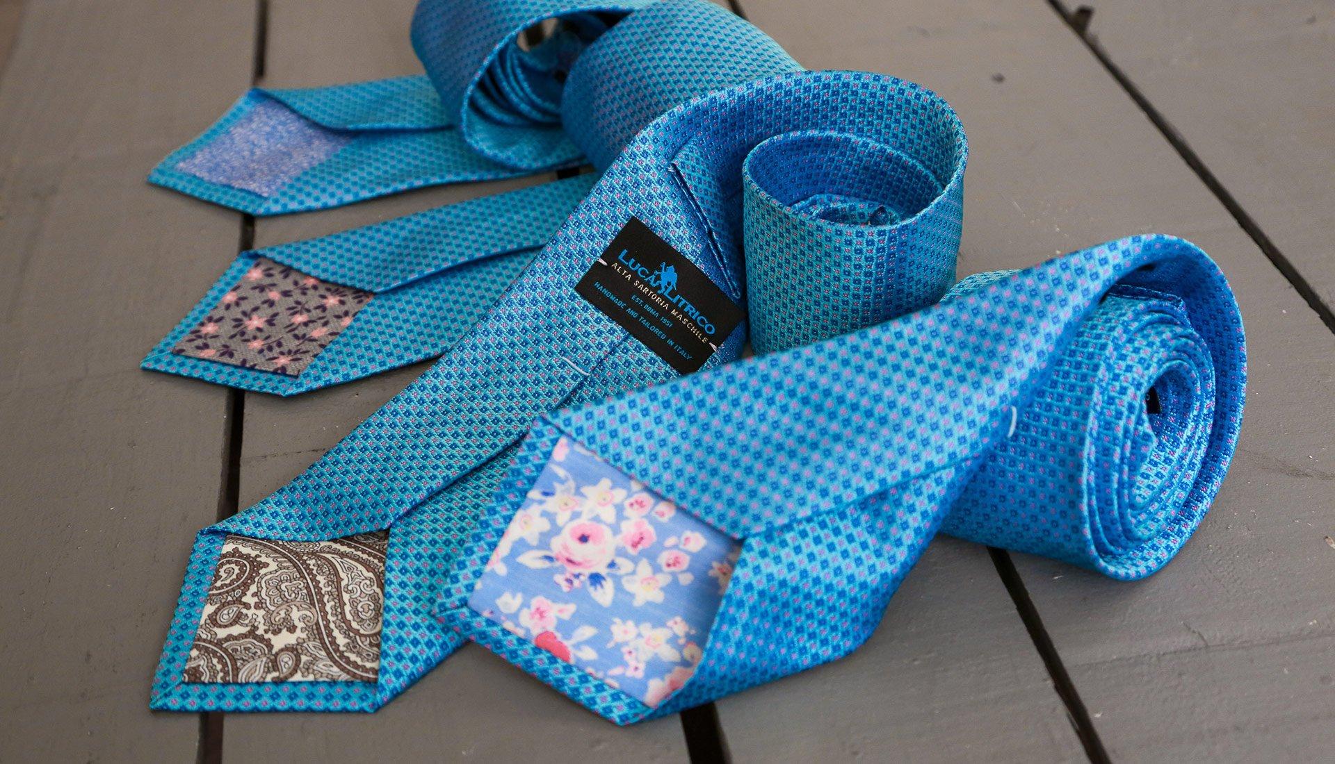Le cravatte sartoriali: la Sartoria Litrico garanzia di Stile